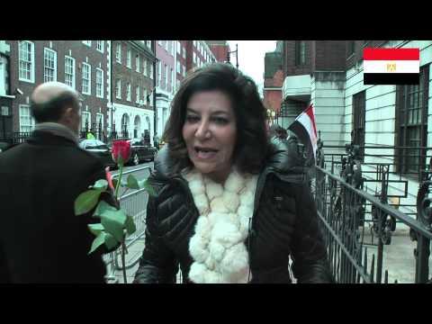 Egyptian Embassy London  25.1.2015,
