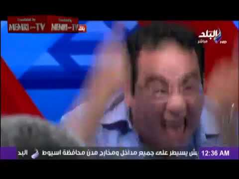 Egyptian Opposition Activist Loses His Cool, Following President Morsi's Speech   July 3, 2013