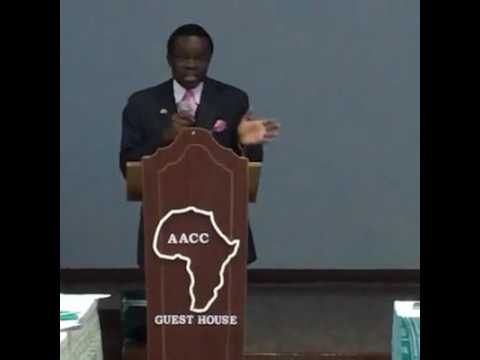 Prof. PLO Lumumba addressing the Youth During the Youth & Entreprenuership