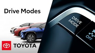 homepage tile video photo for Toyota Drive Modes Feature | Toyota
