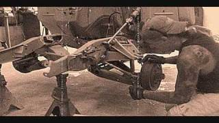 1961 Custom GMC Truck-Front Suspension Removal