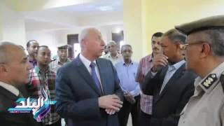 «حجازي» يفتتح أعمال تطوير مبنى مديرية الأمن وقسم شرطة أسوان الجديدة.. فيديو وصور