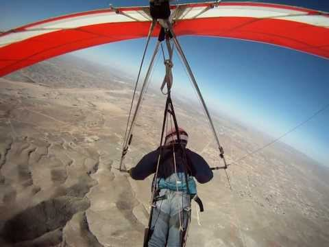 Hang gliding ord mtn apple valley california
