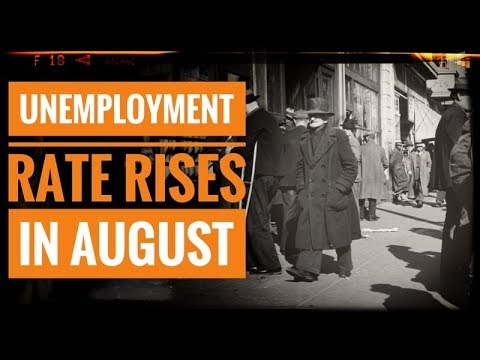 Unemployment Rate Rises in August