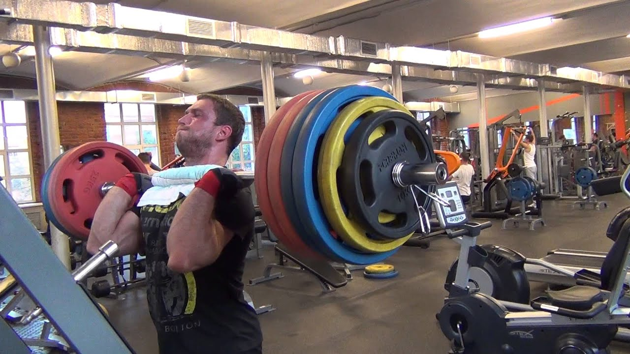 Dmitry Klokov - front squat 250 kg (9.08.2013) - YouTube