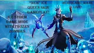 Fortnite Live Stream - France Gameplay de peau de reine de glace de la glace Plus de 2 300 victoires Zombies gelés de tempête de glace