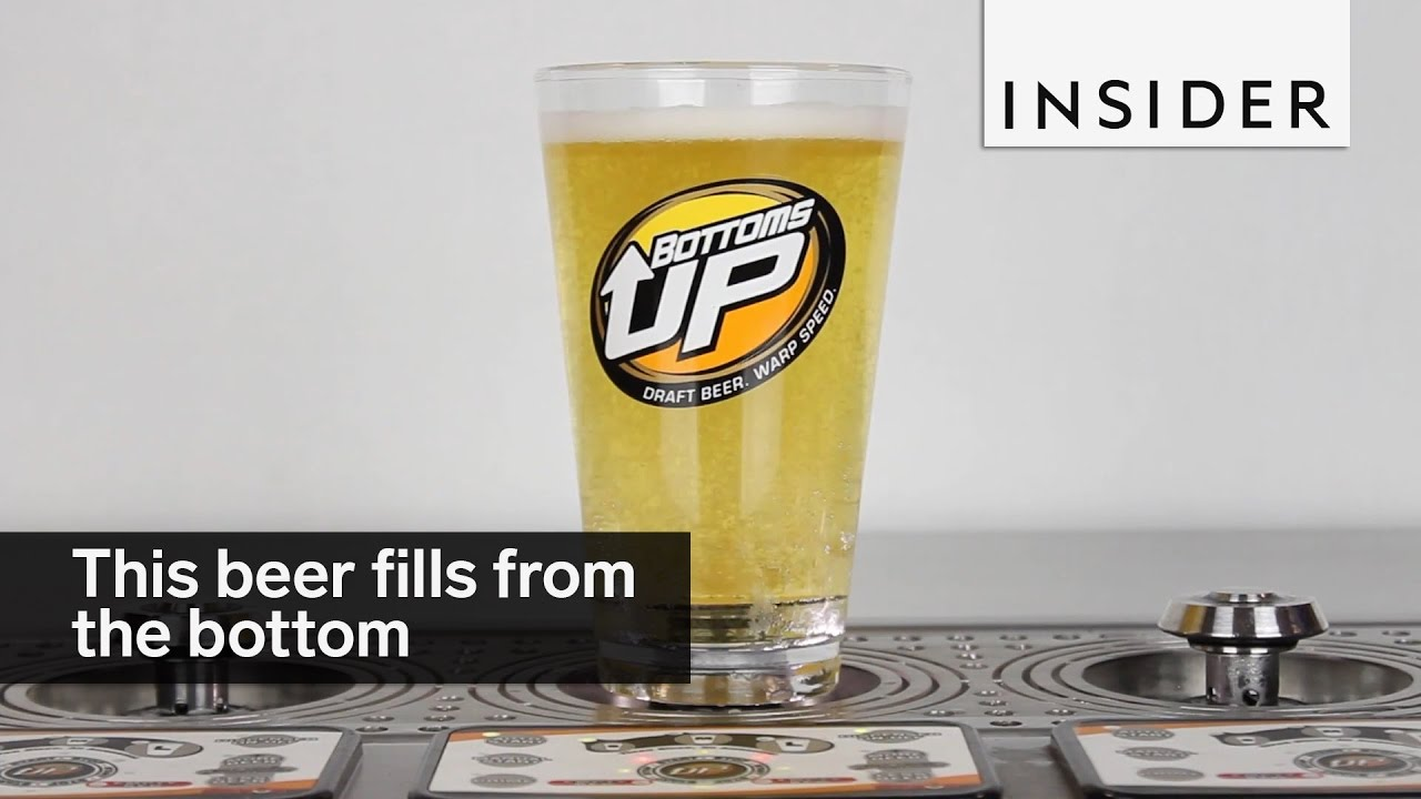 This Beer Fills From The Bottom Youtube