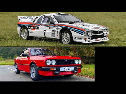 Lancia 037 Group-B '83 WRC winning car & Beta VX on-road review. Greatest supercharged Lancias ever