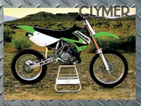 Clymer Manuals Kawasaki MX Dirt Bike Dual Sport Shop Service Repair Maintenance Manual Video