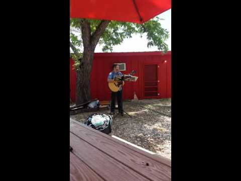 Folsom prison blues cover delivery guy
