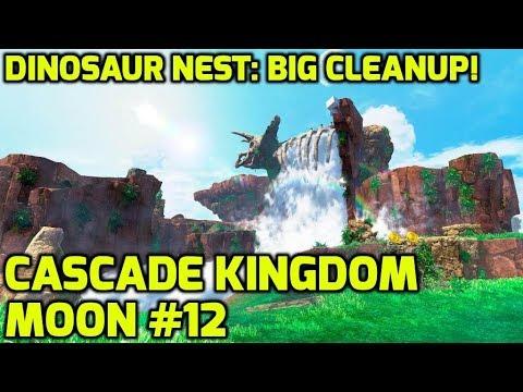 Cascade Kingdom Power Moon 12 Dinosaur Nest Big Cleanup Super