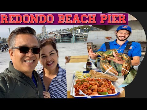 Seafood Dinner At Redondo Beach Pier (Redondo Beach, California)