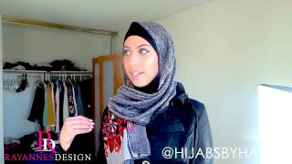 Video How to Style Your Hijab for a day or night Abaya outifit download MP3, 3GP, MP4, WEBM, AVI, FLV Agustus 2018