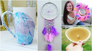 5 DIY HOME DECOR CRAFT IDEAS FOR THE SUMMER | PINTEREST INSPIRED