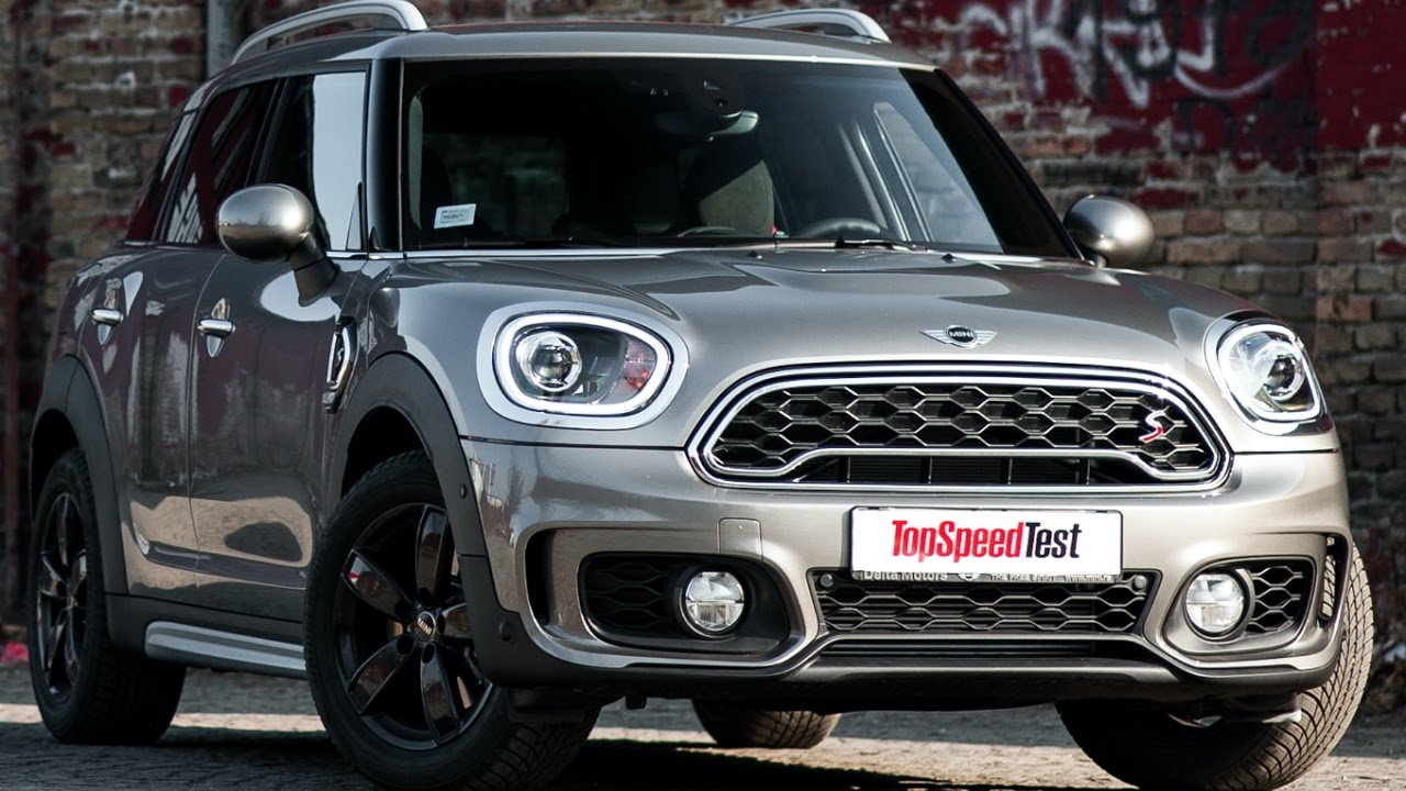 2017 Mini Cooper S Countryman Sound Test Preview
