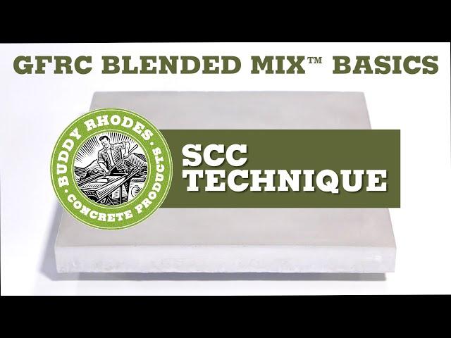GFRC Blended Mix Basics -  SCC Technique