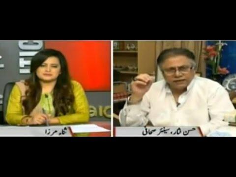 Sana Mirza Live - 15th September 2016 | Hassan Nisar