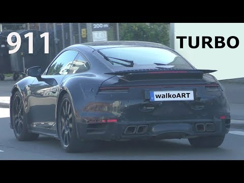 Next-Gen Porsche 911 Turbo Spied Showing Its Bountiful Backside