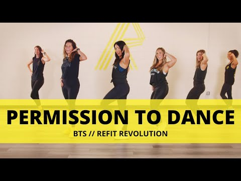"""""""Permission To Dance""""    @BTS WORLD Official    Dance Fitness Choreography    REFIT® Revolution"""