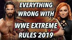 Episode #454: Everything Wrong With WWE Extreme Rules 2019