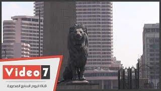 شاهد كيف نالت يد الإهمال من تماثيل رموز مصر بالميادين العامة