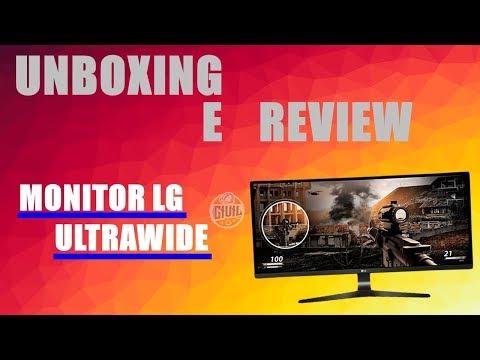 Unboxing e Review MONITOR ULTRAWIDE LG 25' / Bom e Barato