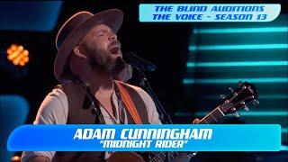 "Adam Cunningham: ""Midnight Rider"" (The Voice Season 13 Blind Audition)"