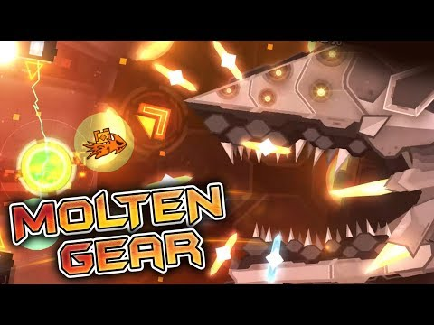 MOLTEN GEAR FINISHED! | Upcoming Extreme Demon | Hosted By Knobbelboy
