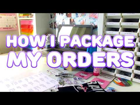 How I Package My Orders • Small Business Behind The Scenes UPDATE