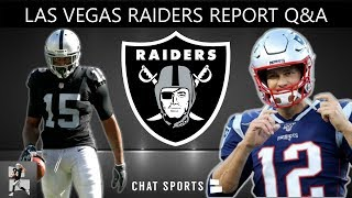 Raiders Rumors On Tom Brady, Michael Crabtree, 2020 NFL Draft, OBJ | Las Vegas Raiders Report Q&A