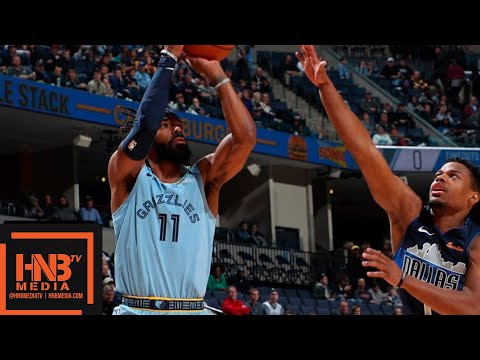 Dallas Mavericks vs Memphis Grizzlies Full Game Highlights | 11.19.2018, NBA Season