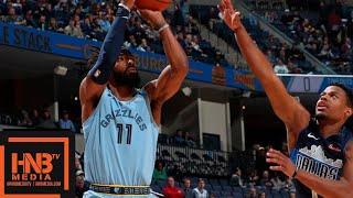Dallas Mavericks vs Memphis Grizzlies Full Game Highlights   11.19.2018, NBA Season