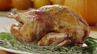 Turkey Recipes - How to Make Rosemary Roasted Turkey
