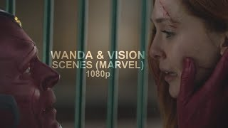 Wanda & Vision Scenes (Marvel) 1080p