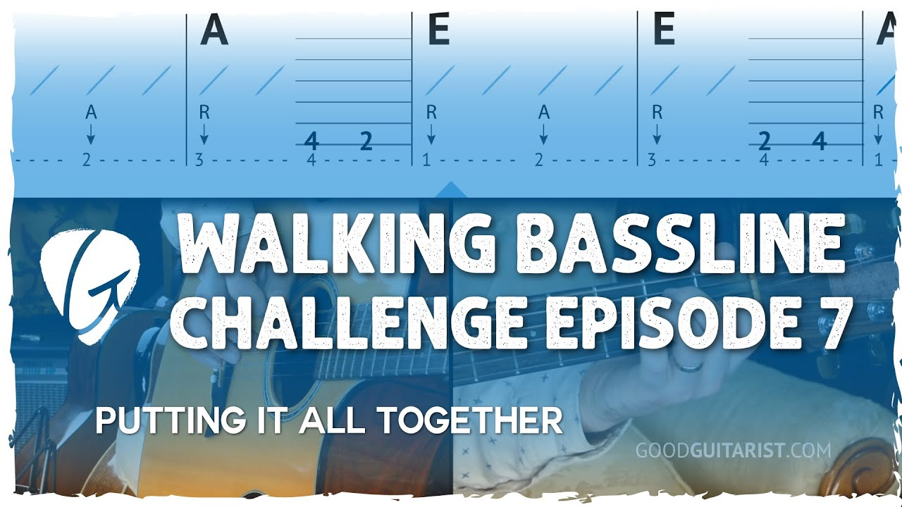 """From """"Chords & Strumming"""" to """"Walking Bass"""" in 3 Steps - Isolation Challenge Vol 1, Ep 7"""