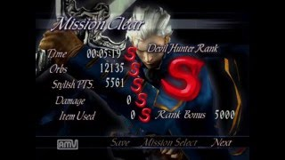 Devil may cry 3SE Vergil SS Mission20 Player: Schnee