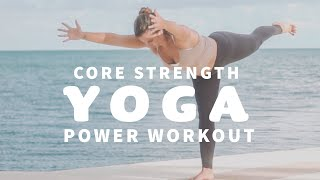 YOGA CLASS ☀️ Morning Yoga Workout for Strength & Core | Florida Keys