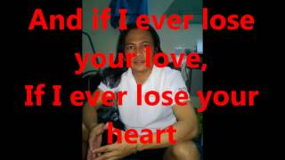 NO ARMS CAN EVER HOLD YOU [karaoke standard version] Chris Norman