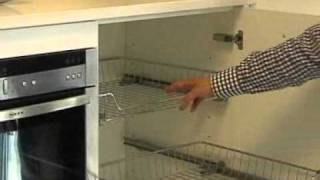 Diy Kitchens - Mid Height Pull Out Basket Units
