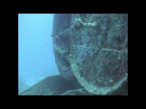 Underwater Steam Train wreck