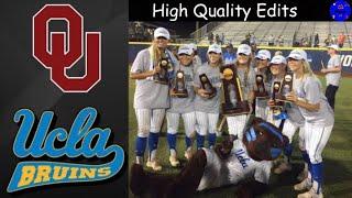 WCWS Game 2 Highlights 2019 | #1 Oklahoma vs #2 UCLA