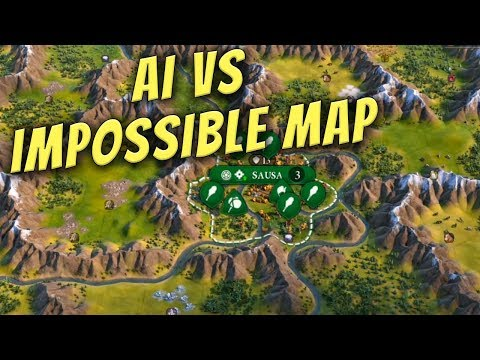 I Built A Map Impossible To Play Without Tunnels And Made Inca AI Play It
