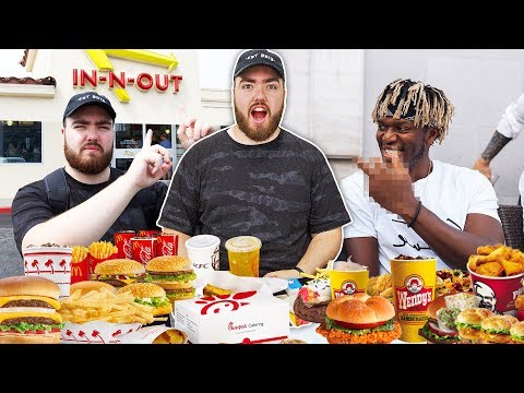 British IDIOTS Try AMERICAN Fast Foods For The FIRST Time