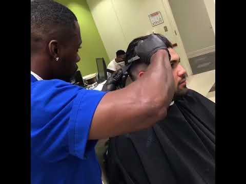 Low Taper Slick back mens haircut |🚨Shearperfection🚨