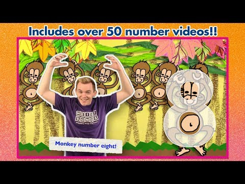 Learn Numbers with HeidiSongs' Number Jumble 0-30!