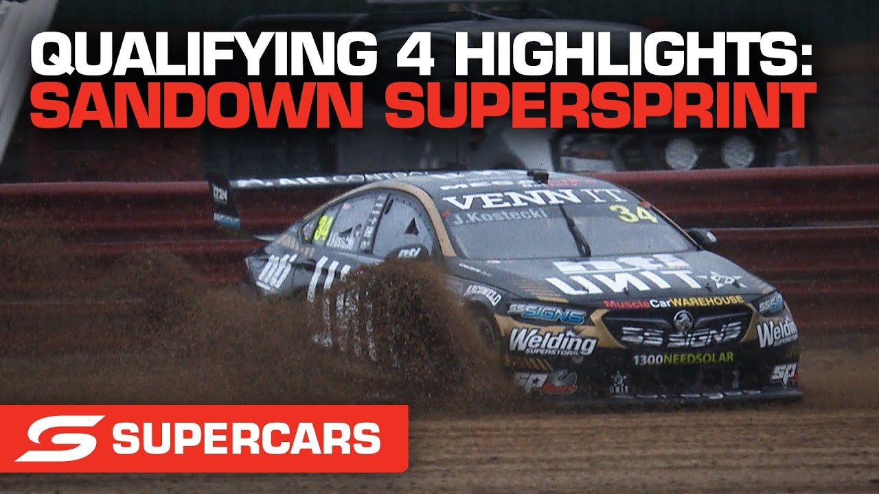 Qualifying 4 Highlights - Penrite Oil Sandown SuperSprint | Supercars 2021
