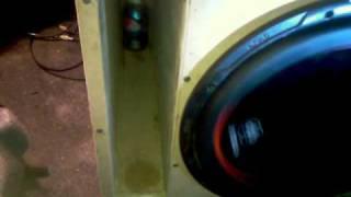 amazin can trick with subwoofer port 15 db drive okur k9