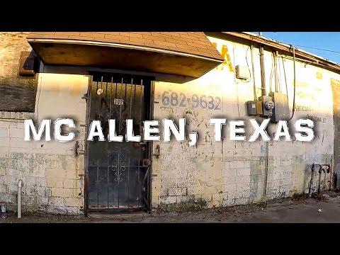 McAllen, Texas Back Alley