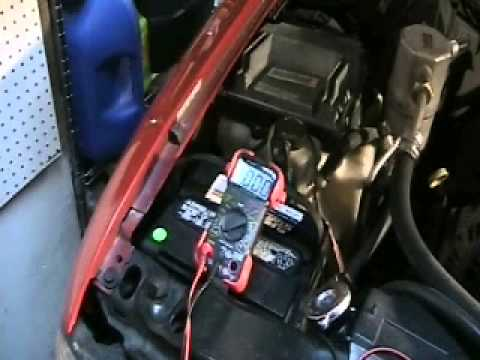 Diagnosing a car battery that drains overnight.