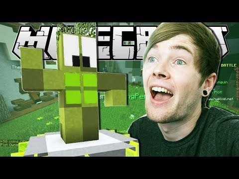 Minecraft | THE CACTUS ALIEN!! | Build Battle Minigame